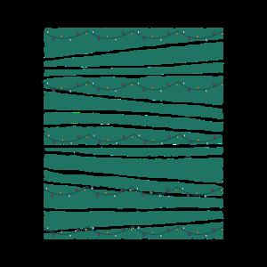 Dunkel Grüner Hintergrund Mit 5 Lichterketten