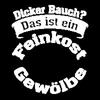 Dicker Bauch Herren T-Shirt Feinkostgewölbe