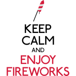 Keep Calm Feuerwerk