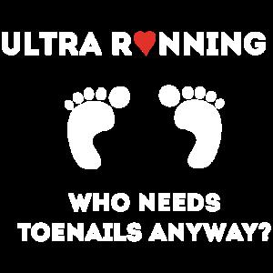 Ultra Running Wer braucht schon Zehennägel?