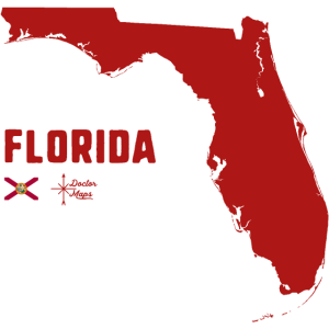 Florida usa drmaps flag r