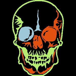 Kopf des künstlerischen Todes