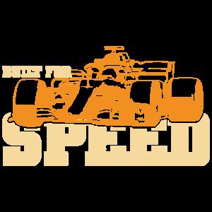 Formel-1-Geschwindigkeitsgeschenk