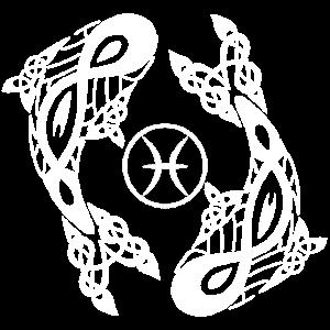 Fisch Sternzeichen Weiss