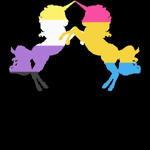 Homosexuelles Einhorn