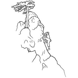Kletter-Girl, schwarz, 1