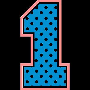 1 - One - Number one - Nummer eins