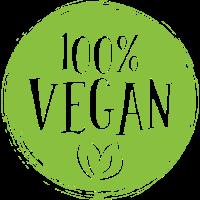 100 Prozent Vegan - Vegetarier Gesund Pflanzlich