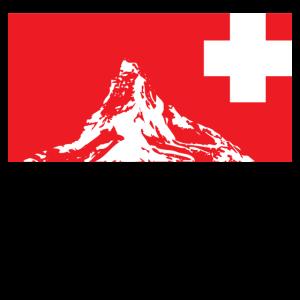 Schweizer Alpen Berge Geschenk