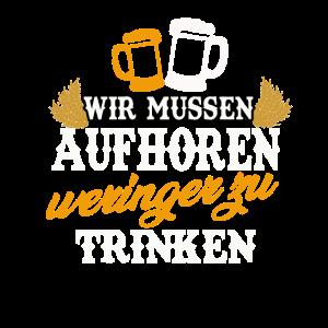 Bier Trinkspruch Alkohol deutsches Bier Geschenk