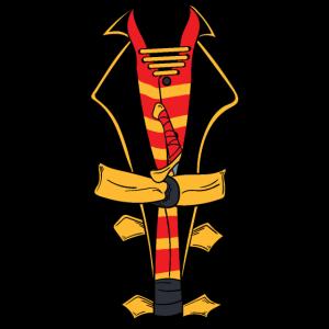 Tuxedo Anzug Smoking JGA Junggeselle Pirat Piraten