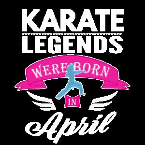 Karate-Legenden April Girls