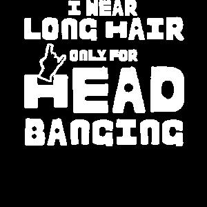 Hard Rock Headbanger Geschenk Spruch Heavy Metal