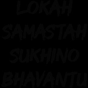 Lokah Samastah Sukhino Bhavantu Yoga Mantra