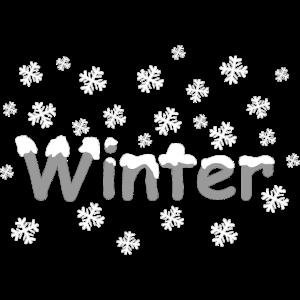 winter schnee dekor