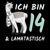 14. Geburtstag Lama Geschenk 14 Jahre lamatastisch
