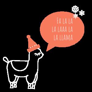 Alpaka Lama mit Hut