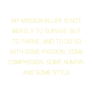 My Mission In Life
