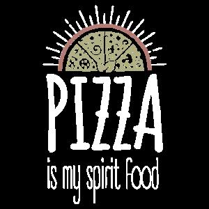 Pizza ist mein Spirituosenessen