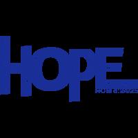 HOPE - Rom 8 24 - 1 Farb Vektor