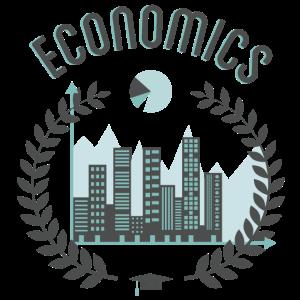 Wirtschaft blau