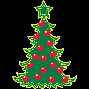 Weihnachtsbaum Weihnachten Stern Weihnachtskugeln