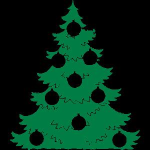 Weihnachtsbaum Weihnachten Weihnachtskugeln