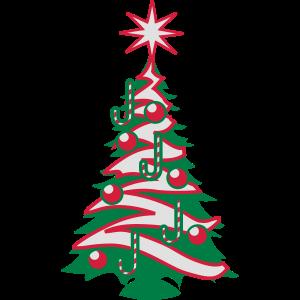 Weihnachtsbaum Weihnachtskugeln zuckerwerk