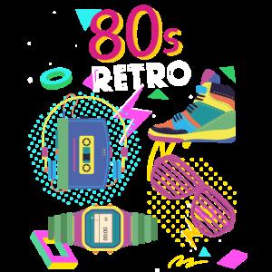80s 80er Jahre Retro Achtziger Vintage