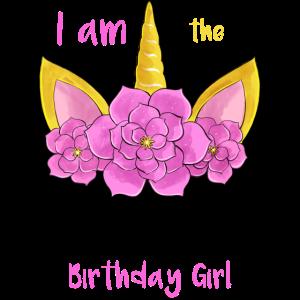Ich bin das Geburtstags-Mädchen-Einhorn