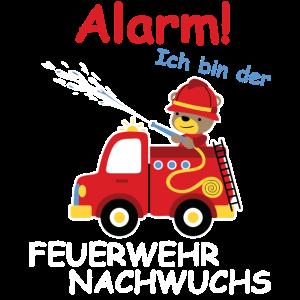 Alarm Ich bin der Feuerwehr Nachwuchs