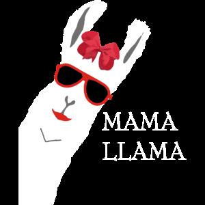 MAMA LAMA ALPAKA SHIRT FÜR FRAUEN UND MÄNNER
