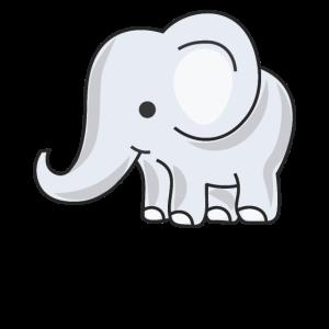Kinderfreundlicher Baby-Elefant für Jungen oder Mädchen
