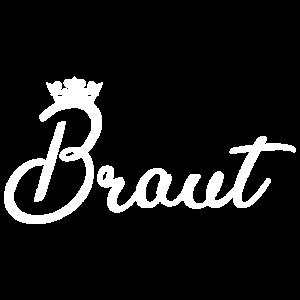 Braut - Junggesellinnenabschied - JGA - mit Krone