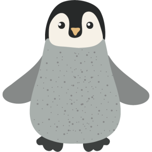 Cute Little Penguin