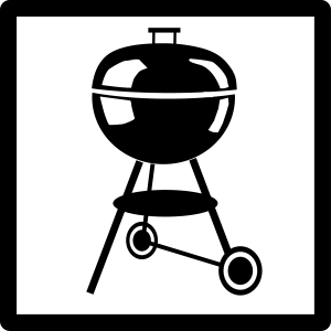 Kugelgrill Piktogramm