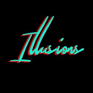 Geometric illusion mathematic optical hypnosis