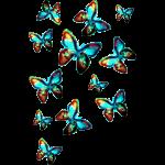 Schmetterlinge, Space, Sommer, Natur, Fee, Galaxie