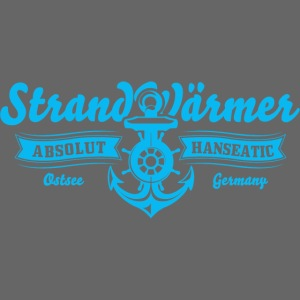 StrandWärmer Absolut Hanseatic Anker Turkis