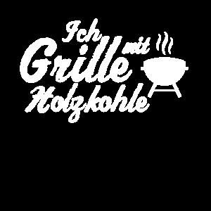 Holzkohle Grill Tshirt