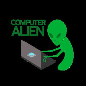 Computer alien