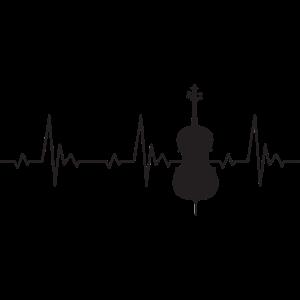 Cello Heartbeat Frequenz Puls EKG
