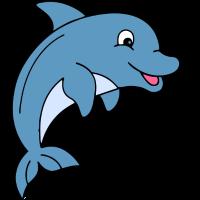 Kinder Delfin