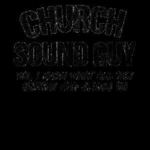 Tontechniker Mischpult Kirche Ton Geschenk