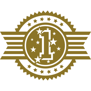 No. 1 Emblem (Gewinner)