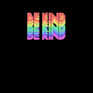 Sei freundlich