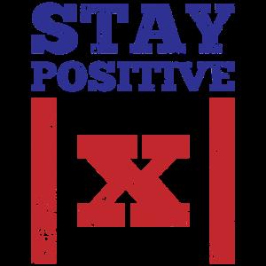Stay Positive Betragsfunktion Geschenk