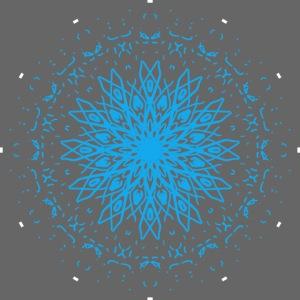 Mandala of ice