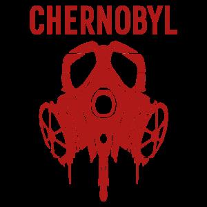 Chernobyl Gasmaske Atom Strahlung Geschenk