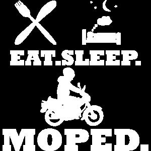 Moped Mofa - Eat Sleep
